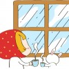 梅雨の日の出勤